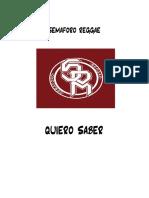 QUIERO SABER - Partitura y partes