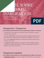 DEBATE SOBRE RACISMO E INMIGRACIÓN
