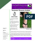 Summer Dreams Anklet