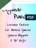 PORTOFOLIO  LECTURA CRITICA