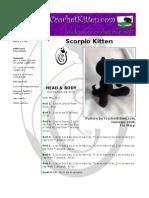 Scorpio Kitten
