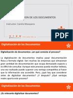 DIGITALIZACION DE LOS DOCUMENTOS