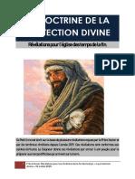 LA DOCTRINE DE LA PROTECTION DIVINE