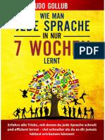 Wie man jede Sprache in nur 7 Wochen lernt (Smartphone-Version)