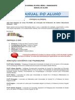 RENASCER MAGISTÉRIO MANUAL DO ALUNO