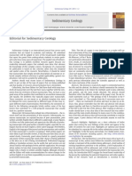 Editorial for Sedimentary Geology (2)