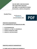DERECHO DEL NIÑO A SER OIDO LOMAS 2016 corto