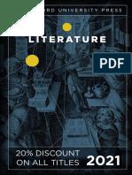 Stanford University Press   Literature 2021