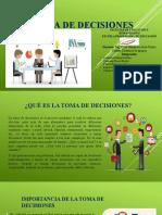 TOMA DE DESICIONES MEYLIN