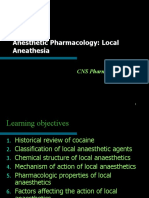 12.1.4 - Local Anesthetics [2009- Feb2013]