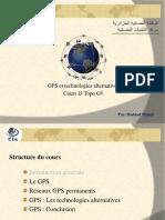 Topo I3 GPS et technologies alternatives