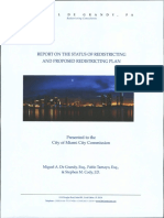 Miami Redistricting Report after 2010 Census