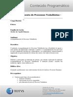 Acomp. Processos Trabalhistas