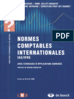 Normes comptables internationales IAS IFRS