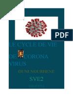 LE CYCLE DE VIE DE CORONA VIRUS