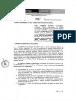 Demanda de inconstitucional  Ley 31083