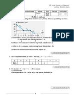 Test  cl. IX - Dragan
