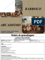 Aula - Barroco e  Arcadismo - 1º Ano