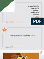 5.INTRODUCCIÓN LEGISLACIÓN MINERA Y AMBIENTAL