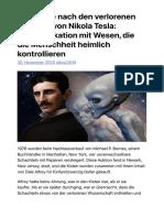 Die Suche nach den verlorenen Papieren von Nikola Tesla- Kommunikation mit Wesen, die die Menschheit heimlich kontrollieren | PRAVDA TV – Lebe die Rebellion.pdf