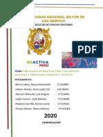 PRESTAMOS DE  REACTIVA PERU IMPACTO CONTABLE Y TRIBUTARIO (2)