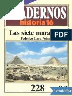 Las siete maravillas - Federico Lara Peinado.pdf
