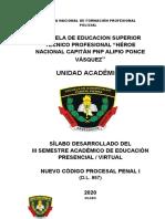 SILABO CODIGO PROCESAL PENAL I.docx
