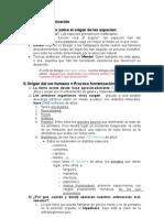 CAPÍTULO 6 Hominización ESQUEMA
