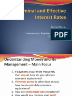 Lecture No8_Nominal and Effective Interest Rates
