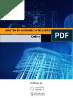 Máster en BUSINESS INTELLIGENCE Y BIG DATA