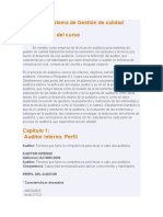 00.-AUDITORÍA SISTEMA DE GESTIÓN DE CALIDAD