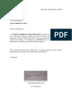 OFICIO DE NO ADEUDAR
