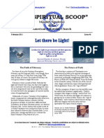 The Spiritual Scoop Issue 4 - Let There Be Light! www.amfellow.org