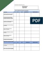 Lista de Verificacion dePrograma de seguridad