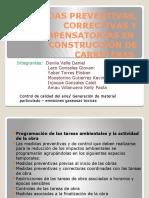 MEDIDAS PREVENTIVAS, CORRECTIVAS Y COMPENSATORIAS EN  CONSTRUCCIÓN