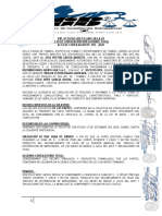 MODELO DE ACTA DE CONCILIACION DAR SUMA DINERO