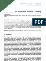 Formal Hardware Verification Methods a Survey