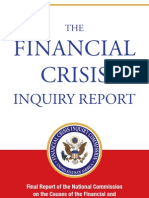 FCIC FINAL REPORT ON FORECLOSURE ISSUE