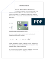 ACTIVIDADES PREVIAS anilina
