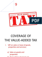 Chapter 9 Value Added Tax