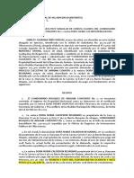 MODELO DEMANDA CUOTAS DE ADMINISTRACIÓN PROPIEDAD HORIZONTAL