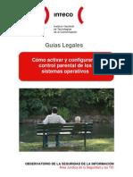 Guía de configuración del control parental[Cert-Inteco]
