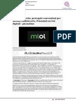 Regione Marche, prorogate convenzioni del sistema bibliotecario - Picenotime.it, 4 dicembre 2020