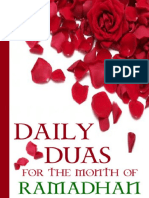 DAILY DUAS FOR THE MONTH OF RAMADHAN.pdf