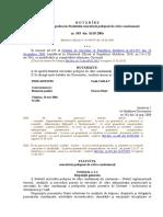 Statutul ex. pedepsei de către condamnați rom. 2020