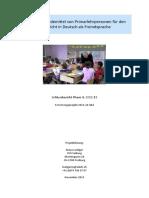 Funktionale Redemittel von Primarlehrpersonen für den  Unterricht in Deutsch als Fremdsprache