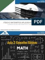 Aula 2 - Física e Matemática Aplicada à Arquitetura