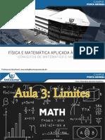 Aula 3 - Física e Matemática Aplicada à Arquitetura