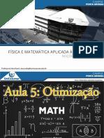 Aula 5 - Física e Matemática Aplicada à Arquitetura