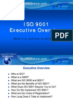 9001 Executive Overview